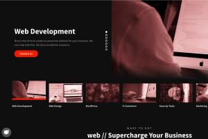 Portfolio for Front-End Web Developer - WordPress