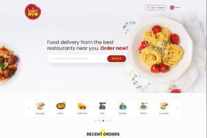 Portfolio for Restaurant Booking Site