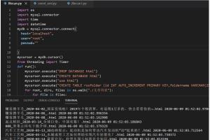 Portfolio for Python windows app