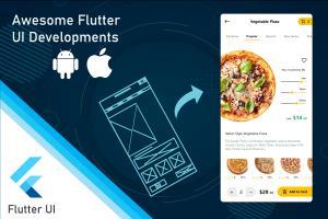 Portfolio for Flutter - Hybrid Mobile App Development