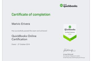 Portfolio for Certified Quickbook and Xero ProAdvisor