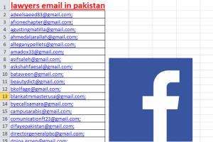 Portfolio for Email scraping