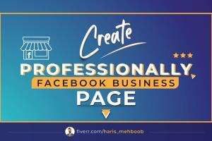 Portfolio for Set up Impressive Facebook Business Page