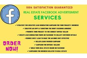 Portfolio for generate real estate leads from facebook