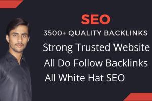 Portfolio for advance SEO and 3500 plus backlinks