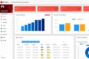 Portfolio for Build Custom PHP Site using Laravel