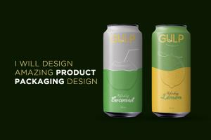 Portfolio for I will design amazing product packaging