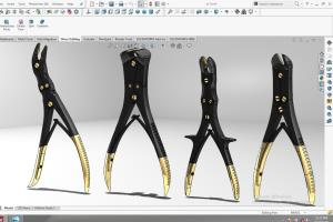 Portfolio for design surgical instruments for product