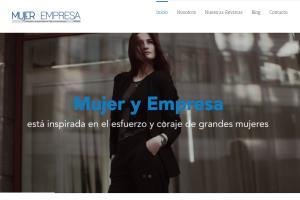Portfolio for Mujer y Empresa