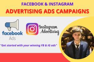 Portfolio for Facebook and Instagram Ads.Marketing