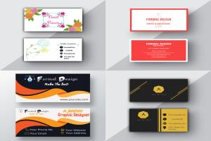 Portfolio for Business Card / Visiting Card  design