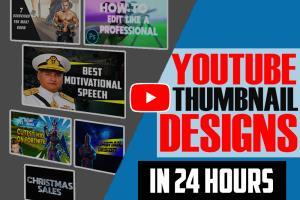 Portfolio for Youtube Thumbnail Designer/Graphic Des