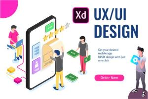 Portfolio for I will design awesome ui/ux of your mobi