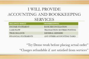 Portfolio for Accounting and Bookkeeping Services
