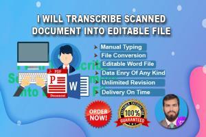 Portfolio for Typing Services | Typist