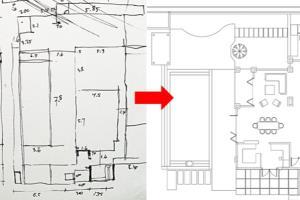 Portfolio for Redraw Floor Plan Hand Sketch to CAD