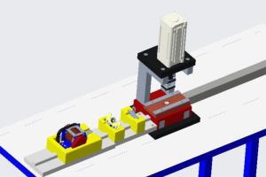 Automation Button Stopper installation  Machine