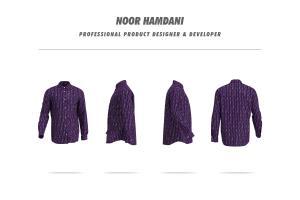 Portfolio for 3d Clothing Mockup