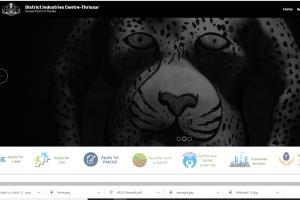 District Industries Centre Website
