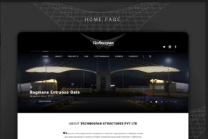 Technospan Website Design