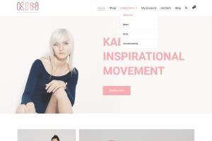Portfolio for Ecommerce website using woocommerce