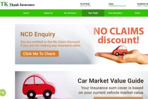Website and Content Development for TK Insurance Agency