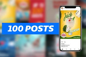 Portfolio for Social Media Design Post