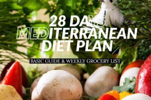 Portfolio for CREATE A 28 DAY MEDITERRANEAN DIET PLAN