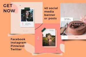 Portfolio for Instagram, facebook posts