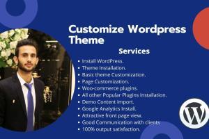 Portfolio for Customize WordPress theme and bug fixes