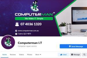Portfolio for Facebook business page create & design