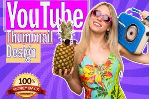 Portfolio for Design Catchy  YouTube  Thumbnail