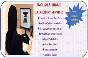 Portfolio for English Arabic Data Entry