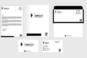 Portfolio for professional business stationary