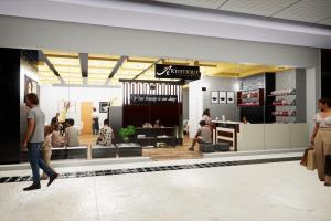 3d exterior visualization (Salon)
