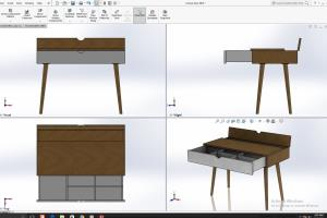 Portfolio for furniture designer and engineering