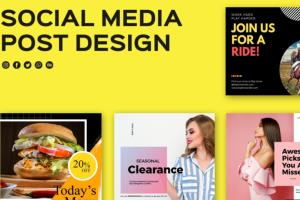 Portfolio for Social Media Post Design