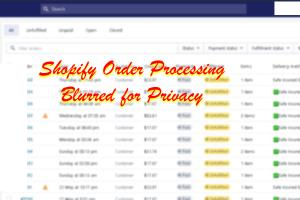 Portfolio for Shopify Order Processing Product Listing