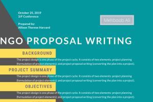 Portfolio for Grant Proposal Writer / NGO Proposal Wri