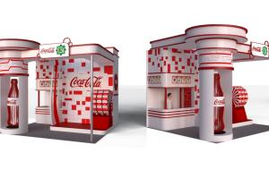 Portfolio for 3d Rendering_Exhibit booth design