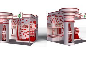 Portfolio for 3d Rendering_Exhibit booth design
