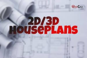 Portfolio for 2D/3D floor plan in AutoCad And 3ds Max