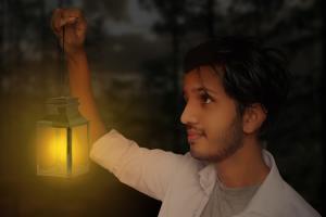 Holding Lamp (Fully Edited)