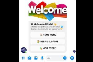 Portfolio for Chatbot for Facebook Messenger