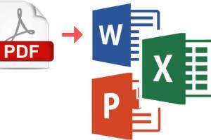 Portfolio for PDF  to Excel,Word