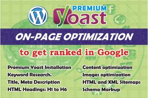 Portfolio for Wordpress Yoast On Page SEO