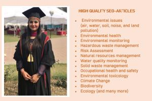 Portfolio for Provide Environmental sciences articles