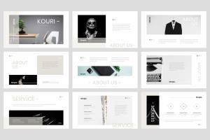 Portfolio for PowerPoint presentation Designer