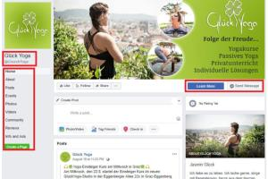 Portfolio for I will create Facebook landing page