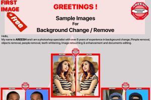 Portfolio for Photoshop Services